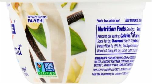 Fage TruBlend Lowfat Vanilla Greek Yogurt Perspective: right