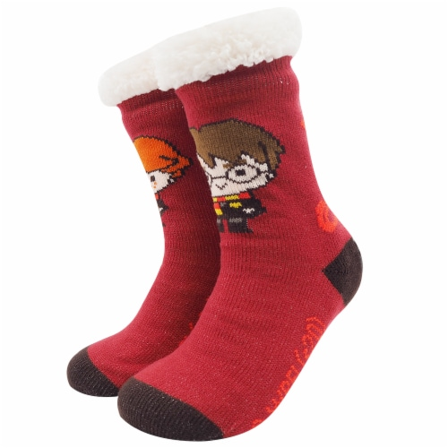 MTI Gryffindor Harry Potter Sherpa Sock Assortment Perspective: right