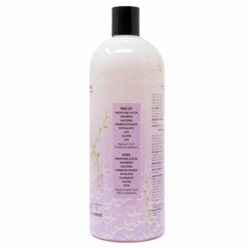 Vitabath Lavender Chamomile Bubble Bath Perspective: right
