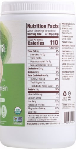 Nutiva 15G Organic Hemp Protein Perspective: right