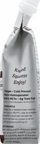 Nutiva Squeezable Organic Virgin Coconut Oil Perspective: right
