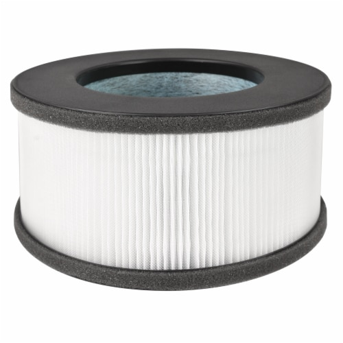 Happy Living HEPA 360-Degree 4-Stage Filtration Air Purifier Replacement Filter Perspective: right