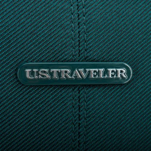 U.S. Traveler Esther Carry-On Expandable Spinner Luggage - Teal Perspective: right