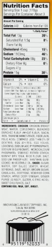 InnovAsian Cuisine Crispy Honey Chicken Frozen Meal Perspective: right