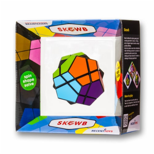 Recent Toys Meffert's Skewb Puzzle Perspective: right