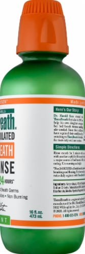 TheraBreath Mild Mint Fresh Breath Oral Rinse Perspective: right