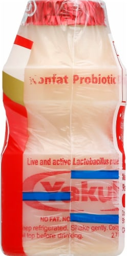 Yakult Nonfat Probiotic Drink Perspective: right