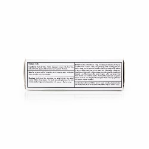 Xlear Max Natural Saline Sinus Spray Perspective: right