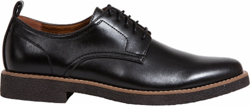 Deer Stags Highland Men's Plain Toe Oxfords - Black Perspective: right