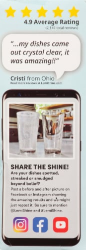 Lemi Shine® Detergent Booster Tablets Perspective: right
