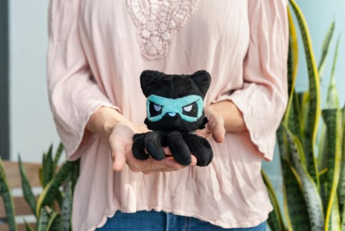 Tentacle Kitty Series Little One Ninja Plush Collectible | 4 Inches Tall Perspective: right