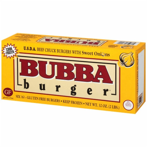 BUBBA Gluten Free Sweet Onion Burgers 6 Count Perspective: right