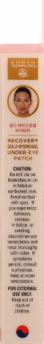 Earth Therapeutics Hydrogel Undereye Patch-Rose Perspective: right