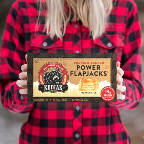 Kodiak Cakes Buttermilk Power Flapjacks 12 Count Perspective: right