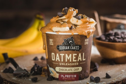 Kodiak Cakes Power Cup Chocolate Chip Oatmeal Perspective: right