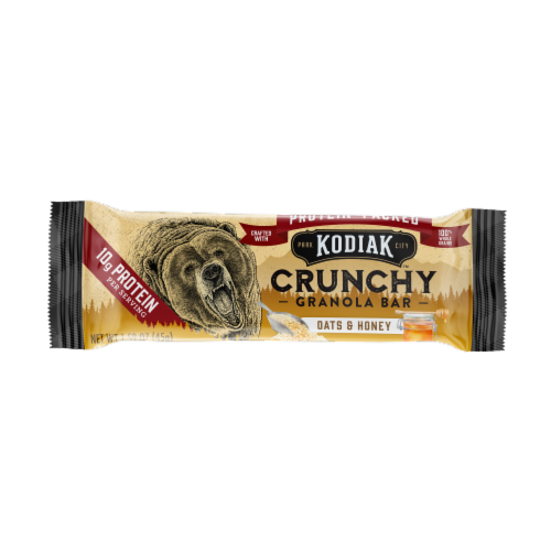 Kodiak Cakes Protein-Packed Oats and Honey Crunchy Granola Bars Perspective: right