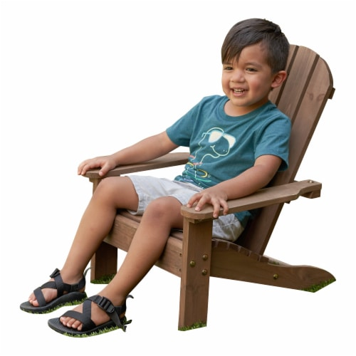 KidKraft Children's Adirondack Chair - Espresso Perspective: right