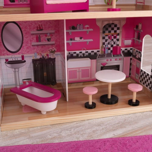 KidKraft Bonita Rosa Dollhouse Perspective: right