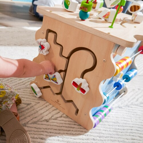 KidKraft World of Eric Carle™ Very Busy Activity Cube Perspective: right