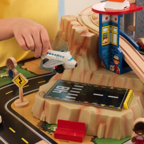KidKraft Metropolis Train Set & Table Perspective: right
