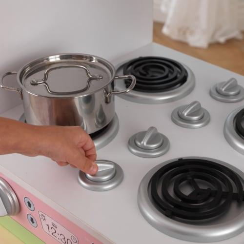 KidKraft Uptown Pastel Play Kitchen Perspective: right