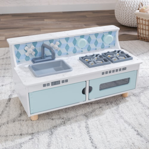 KidKraft Play & Put Away Wooden Kitchen Perspective: right