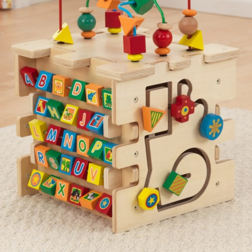 KidKraft Deluxe Activity Cube Perspective: right
