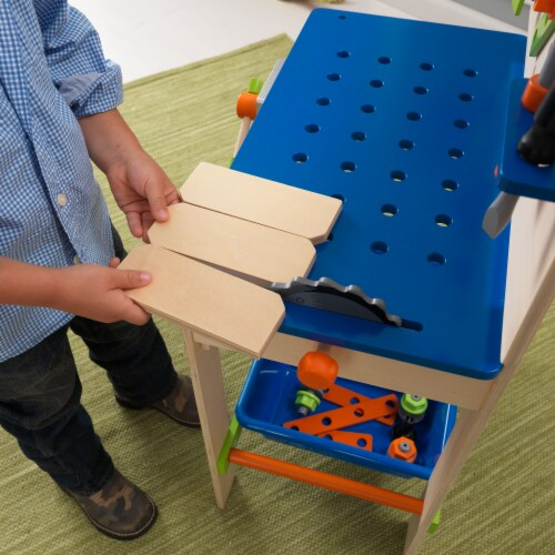 KidKraft Deluxe Workbench with Tools Perspective: right