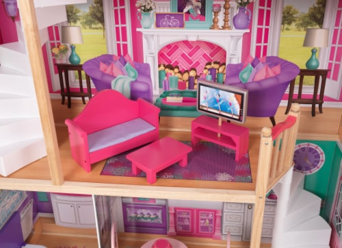 KidKraft 18-Inch Dollhouse Doll Manor Perspective: right