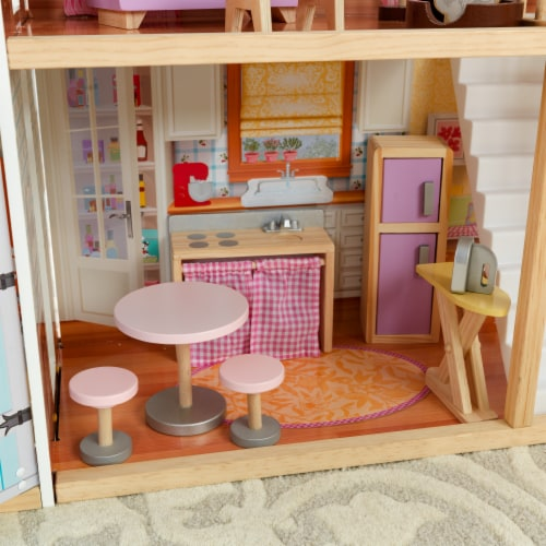 KidKraft Grand View Mansion Dollhouse with EZ Kraft Assembly™ Perspective: right