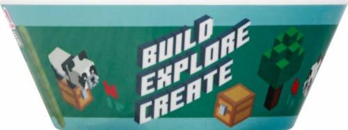 Zak Designs Minecraft Melamine Bowl Perspective: right