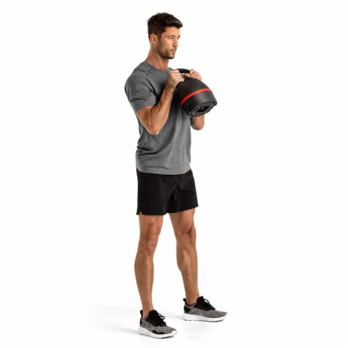 Bowflex SelectTech Adjustable Compact Kettlebell Exercise Weight, 8 to 40 Pounds Perspective: right