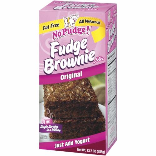 No Pudge Original Fudge Brownie Mix Perspective: right