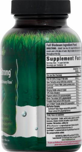 Irwin Naturals Prosta-Strong Liquid Soft-Gels 90 Count Perspective: right