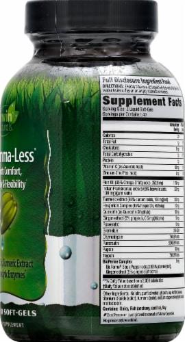 Irwin Naturals Inflamma-Les Supplement Liquid Soft-Gels 80 Count Perspective: right