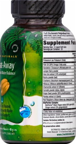 Irwin Naturals Bloat-Away Dietary Supplement Perspective: right