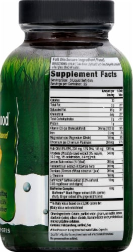 Irwin Naturals Sunny Mood Liquid Softgels Perspective: right