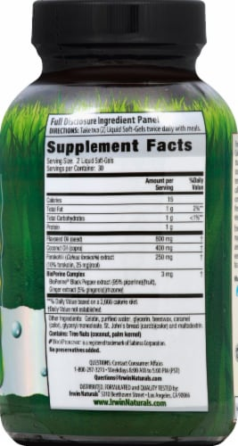 Irwin Naturals Forskolin Fat Loss Diet Soft-Gels Perspective: right