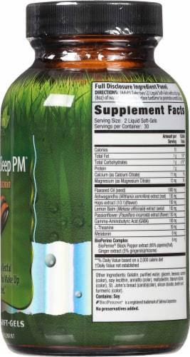Irwin Naturals Power to Sleep PM® Melatonin Liquid Soft-Gels 6mg Perspective: right