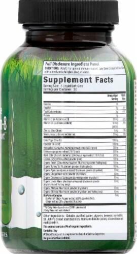 Irwin Naturals Pure Defense Mushroom-8 Immune Support Liquid Soft-Gels Perspective: right