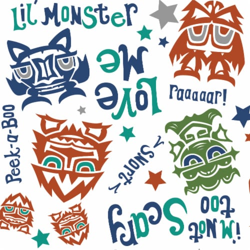 Rumparooz OBV One Size Pocket Cloth Diaper   Lil Monster Reboot Perspective: right