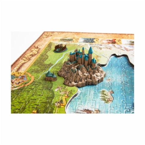 4D Cityscape Harry Potter Wizarding World Puzzle Perspective: right