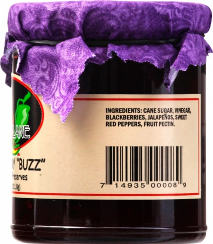 Pepperlane Blackberry Buzz Preserves Perspective: right
