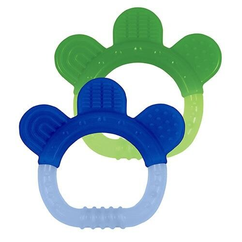 Green Sprouts Paws Silicone Teether Perspective: right