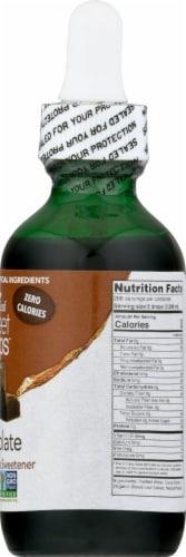 SweetLeaf Sweet Drops Chocolate Flavor Liquid Stevia Sweetener Perspective: right