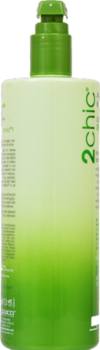 Giovanni 2chic Avocado & Olive Oil Ultra Moisture Shampoo Perspective: right