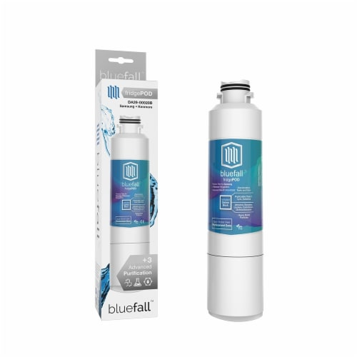Samsung DA29-00020B 2PK Refrigerator Water Filter Compatible by BlueFall Perspective: right