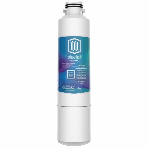 Samsung DA29-00020B 3PK Refrigerator Water Filter Compatible by BlueFall Perspective: right