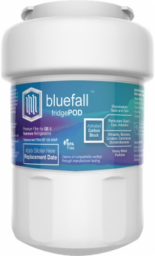 Bluefall GE MWF SmartWater Compatible Water Filter ONE Filter Perspective: right