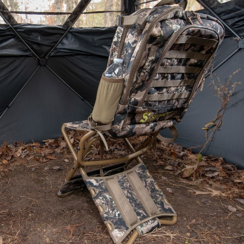 Summit Treestands Lightweight Hunting Compact Chairpack 2.5, Veil Whitetail Perspective: right